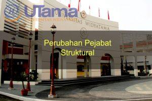 Perubahan Pejabat Struktural